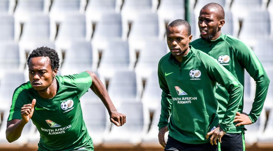 Bafana complete preparations for Mali test