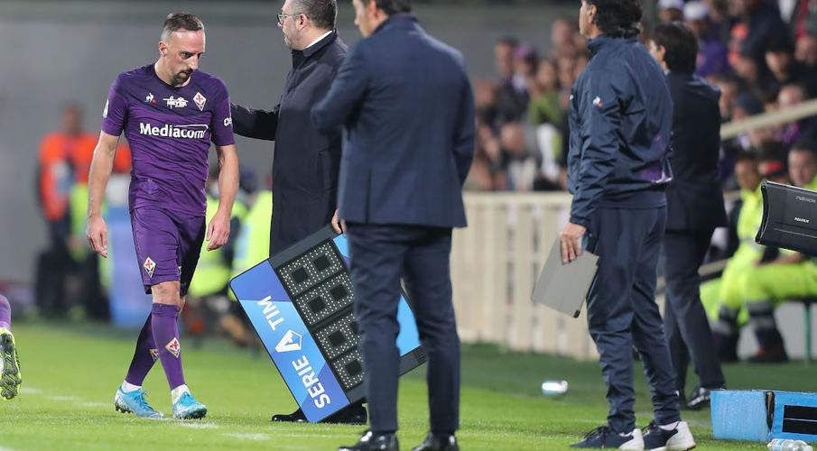 Ribery banned for three games for pushing official