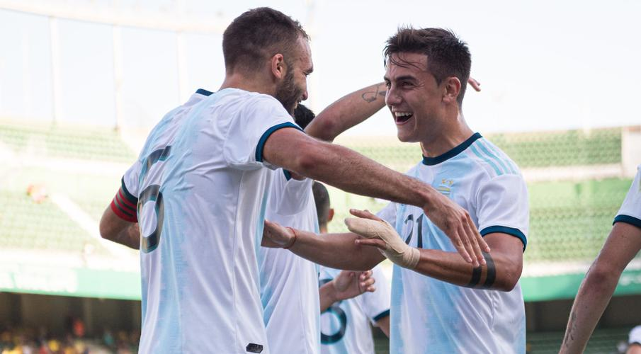 Six players score for Argentina in 6-1 hammering of Ecuador