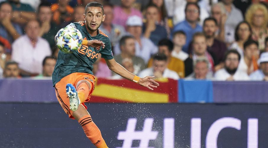 Ziyech stunner helps Ajax ease past Valencia