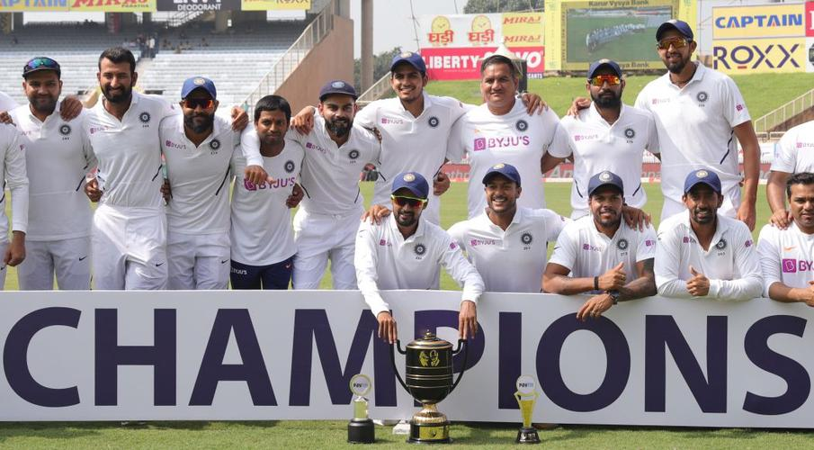 India sweep series with a second innings-victory