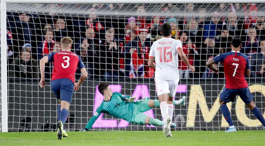 King penalty denies Spain in dramatic Norway draw