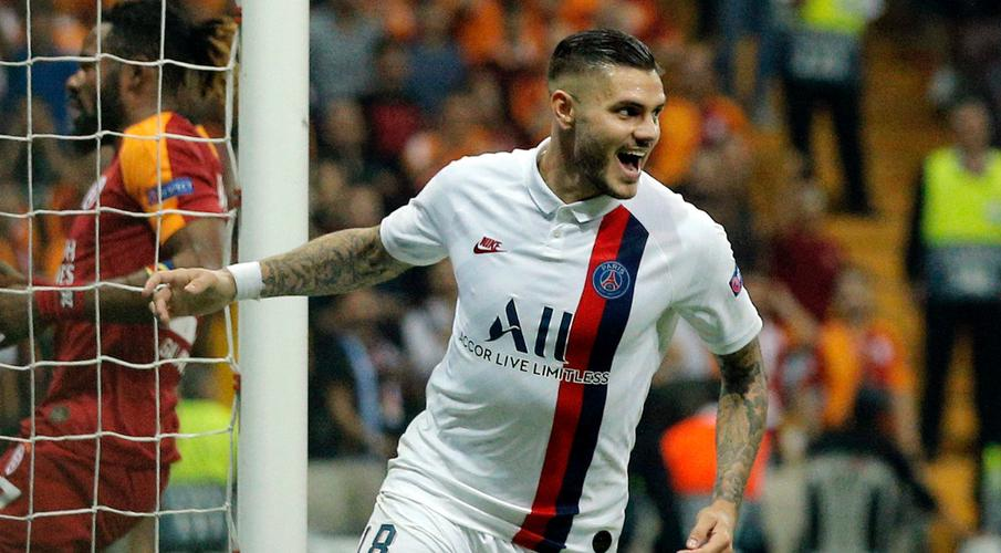 Icardi opens PSG account to claim victory at Galatasaray