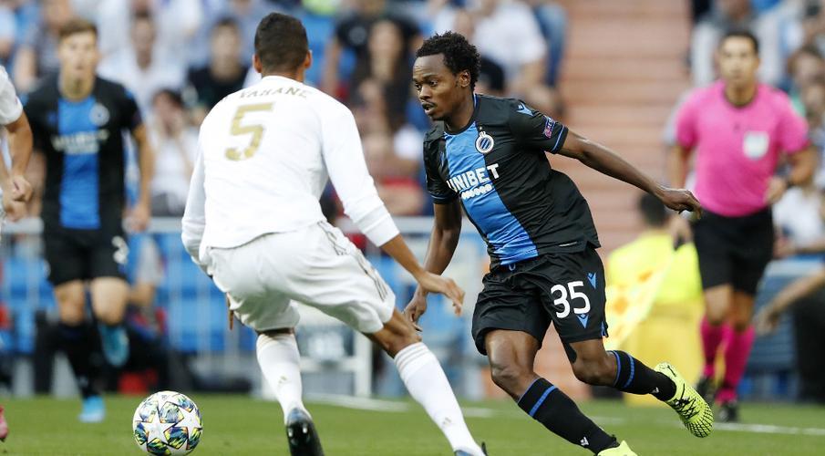 Tau's Club Brugge let Real off the hook