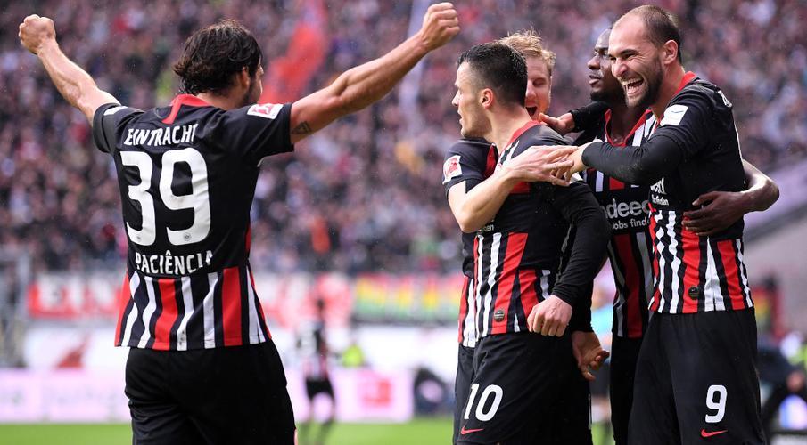Bayern Munich thrashed at Frankfurt in ten-year low
