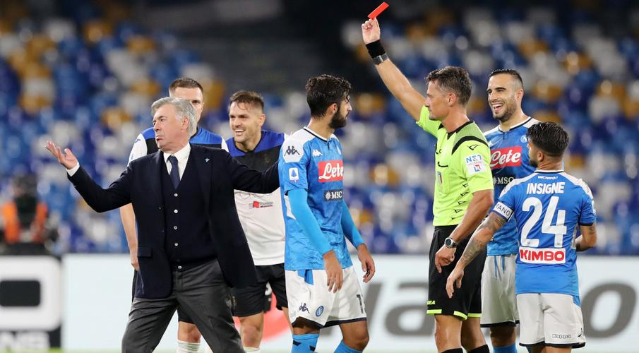 Ancelotti sacked despite guiding Napoli to UCL last-16