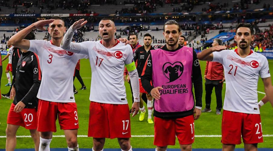 Turkey fined for fan behaviour, players warned over salutes