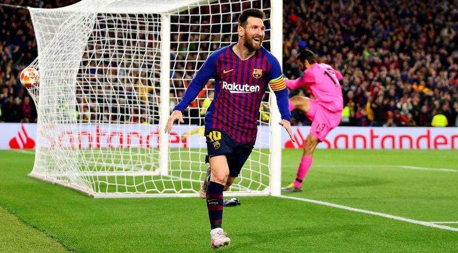 ผลการค้นหารูปภาพสำหรับ Barcelona on the brink of first Champions League final since 2015