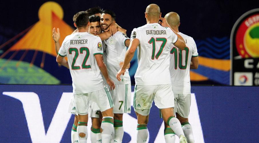 Mahrez scores as Algeria outclass Guinea to reach quarters