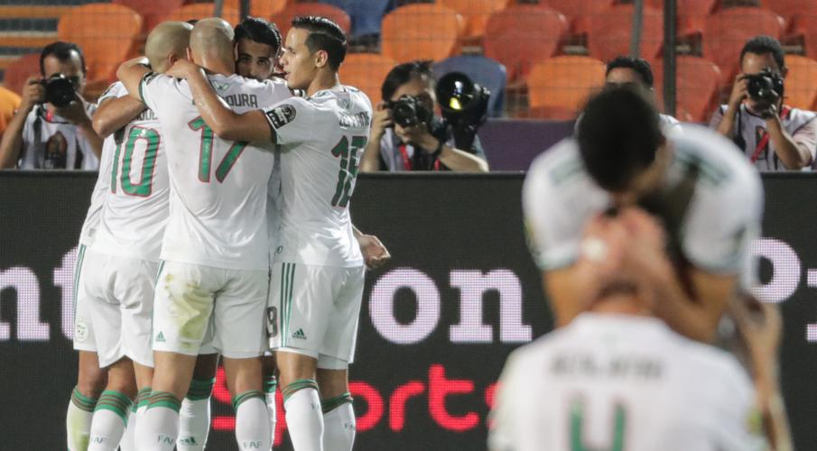 Late Mahrez winner sends Algeria through to Afcon final