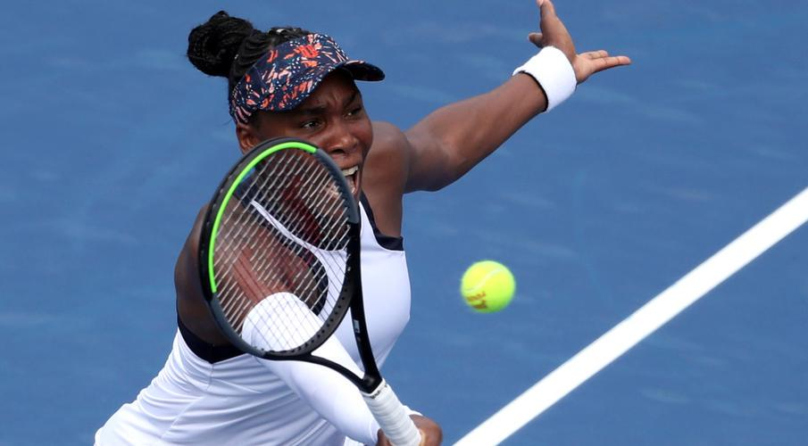 Image result for Venus stuns title-holder Bertens