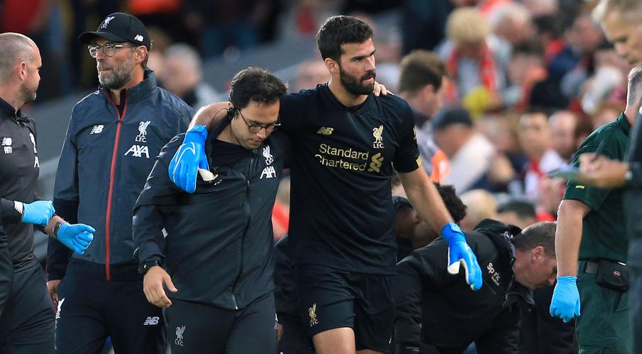 Alisson ruled out until mid-October, says Klopp