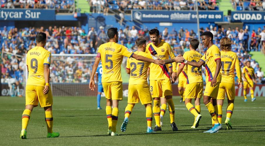 Năm điểm nói chuyện trong bóng đá châu Âu cuối tuần này Barca-190928-Celebrating-G-1050