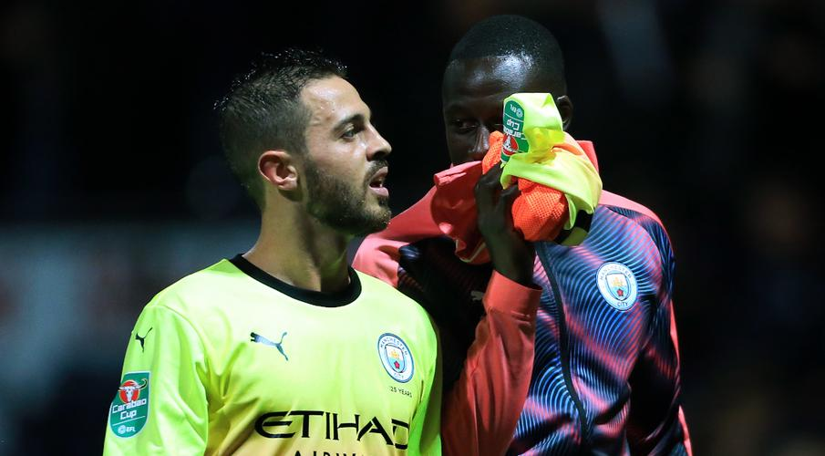 Bernardo Silva sorry for Mendy tweet