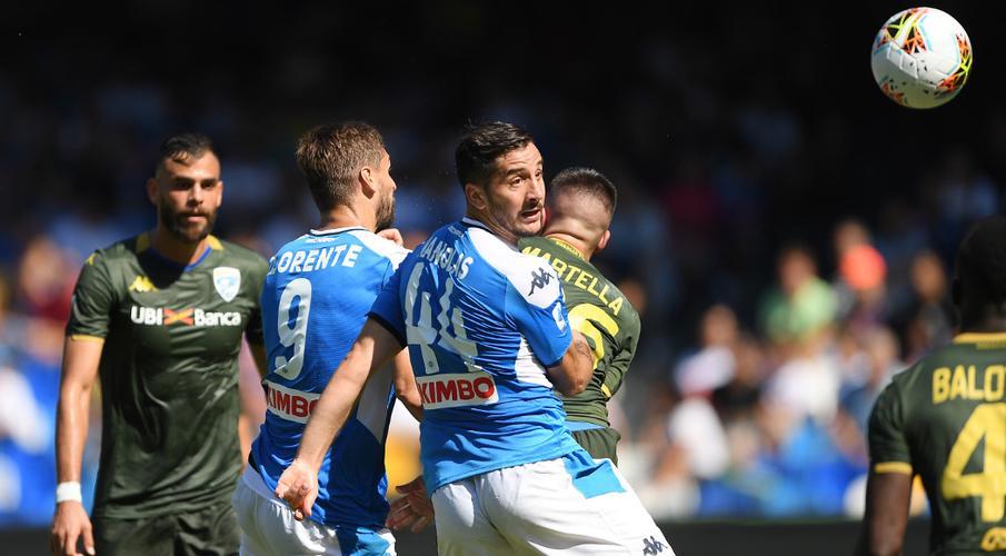 Napoli hold off Brescia to earn narrow win