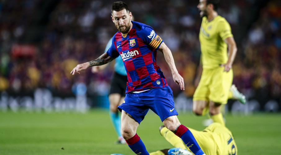 Messi injured but Barca seal much-needed win over Villarreal