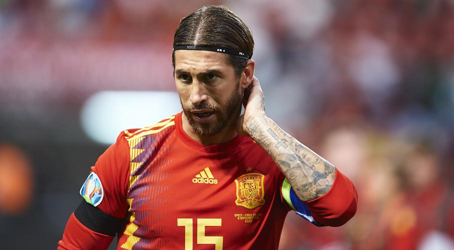 Ramos equals Casillas' Spain appearances record