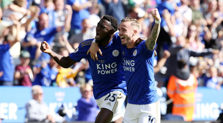 Maddison fires Leicester to victory over Spurs amid VAR drama
