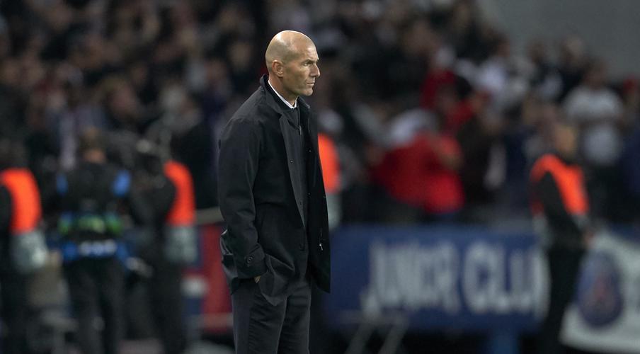 Zidane slams Real's lack of intensity in PSG defeat