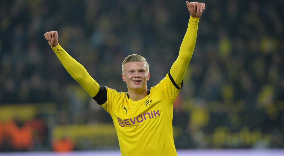 Haaland hits two more off bench as Dortmund rout Cologne