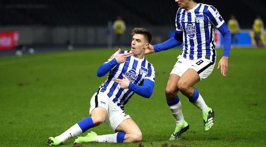 Piatek double for Hertha in derby ends Union's unbeaten run   SuperSport