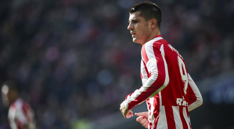 Morata injury leaves Atletico short on forwards