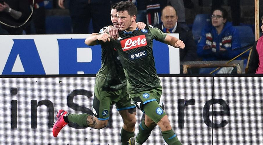 Demme and Elmas help resurgent Napoli beat Sampdoria