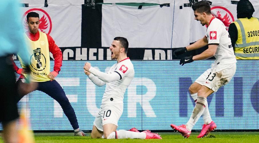 Frankfurt knocks Leipzig out of German Cup