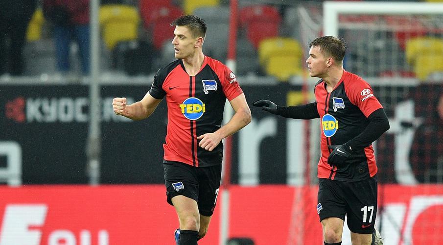 Hertha battle back to draw at Fortuna Duesseldorf