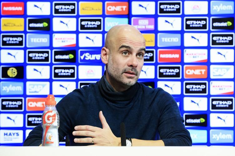 Guardiola takes swipe at Barca over Man City's Euro ban