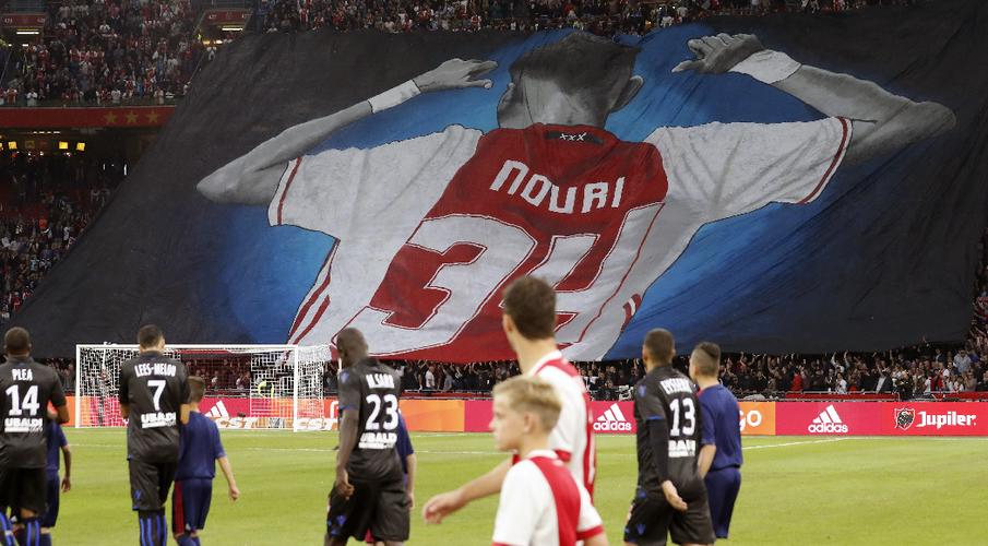 Ajax cancel contract of player stricken after heart attack