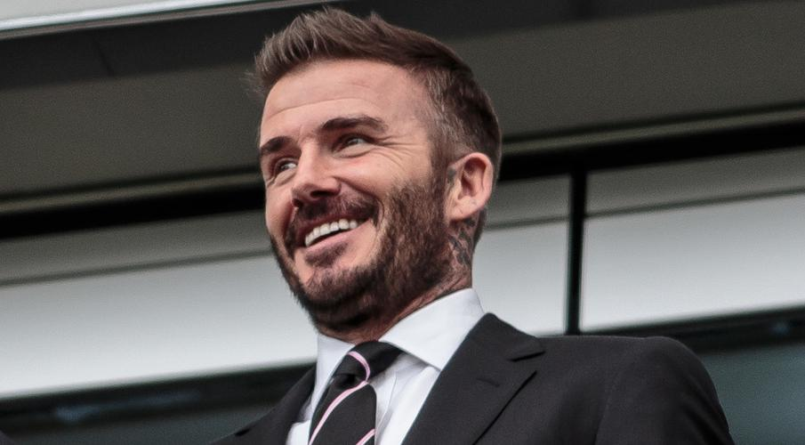 Beckham visits empty stadium as MLS club's home debut delayed