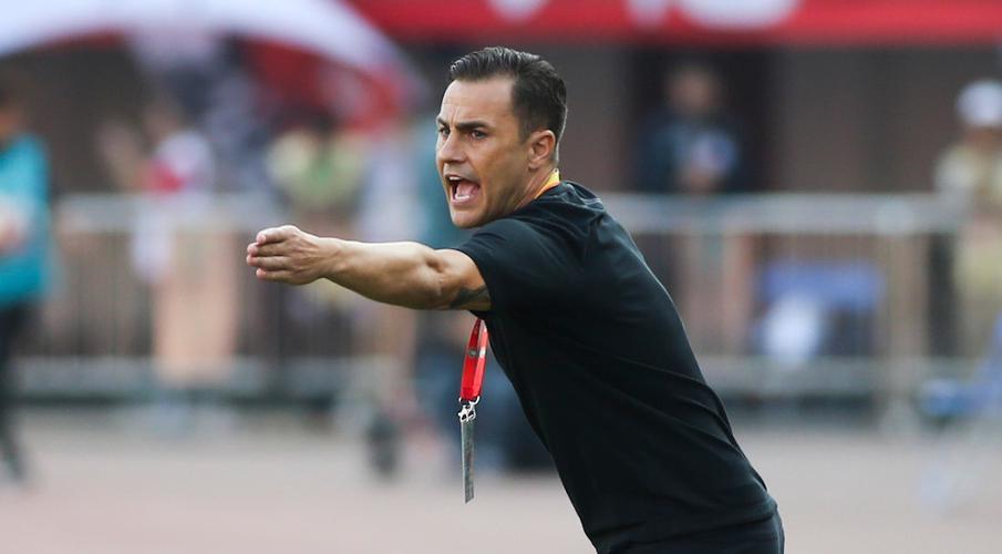 Cannavaro's Guangzhou hit Brazilian with hefty $430,000 fine