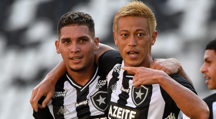 Japan's Honda scores in Botafogo debut