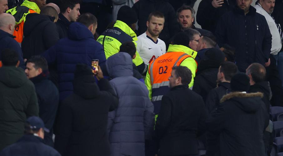 Dier charged by FA for confronting fan after Cup loss