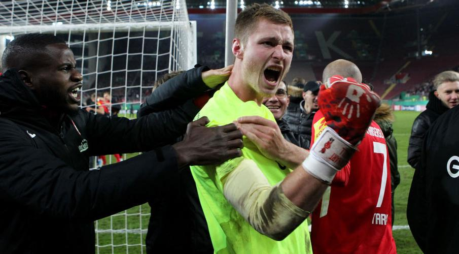Leverkusen sign youth international keeper Grill to 2024