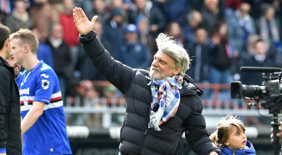 Sampdoria boss sees no point in finishing season without fans