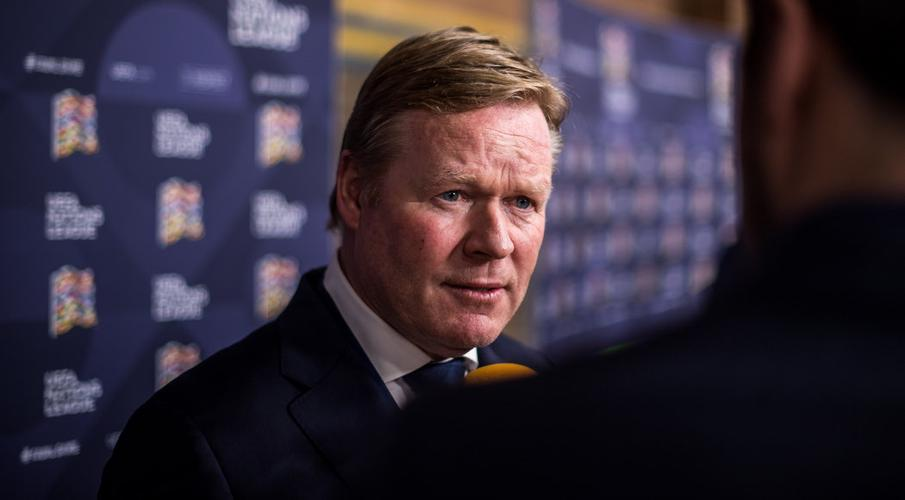 Dutch coach Koeman admitted to hospital with heart problem