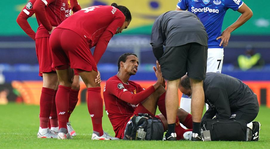 Matip out of Liverpool's final seven games due to foot injury