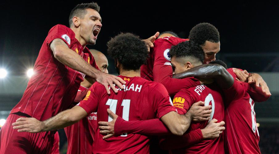 Liverpool win Premier League title with seven games to spare