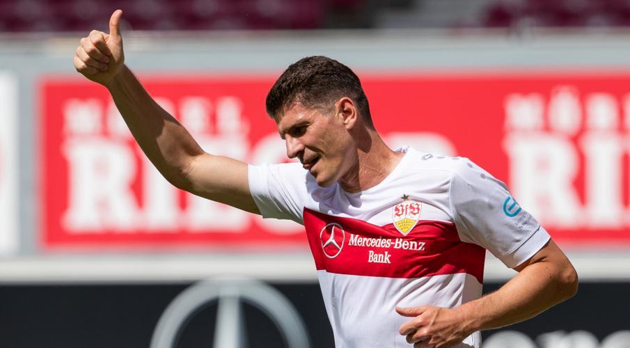 Former Germany striker Gomez signs off with goal for Stuttgart