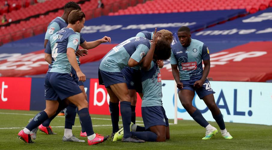 Wycombe Wanderers win promotion to Championship for first time