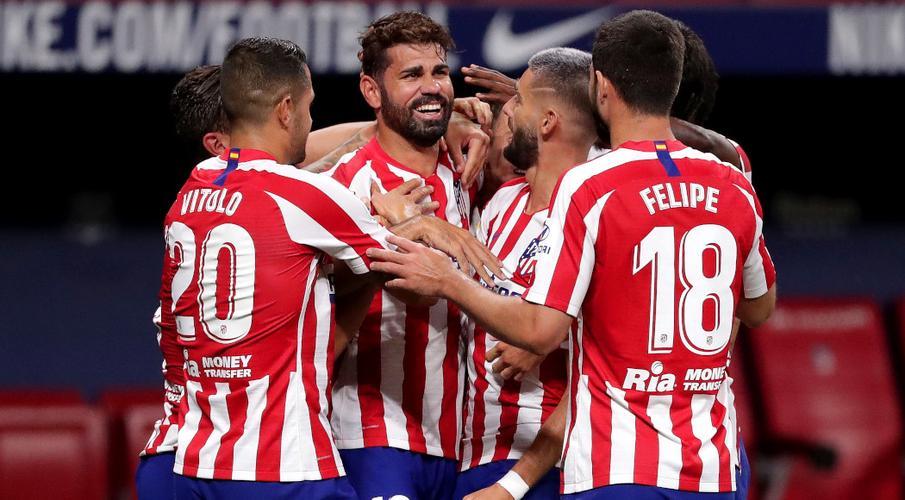 Costa tấn công đảm bảo Atletico kết thúc top bốn