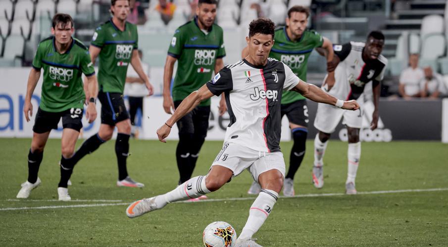 Ronaldo rút phạt đền bù cho Juve v Atalanta