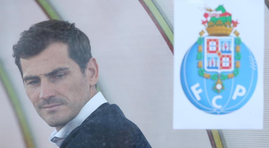 Casillas bids discreet farewell to Porto