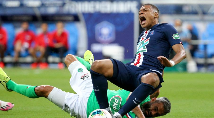 Mbappe to miss Champions League quarters