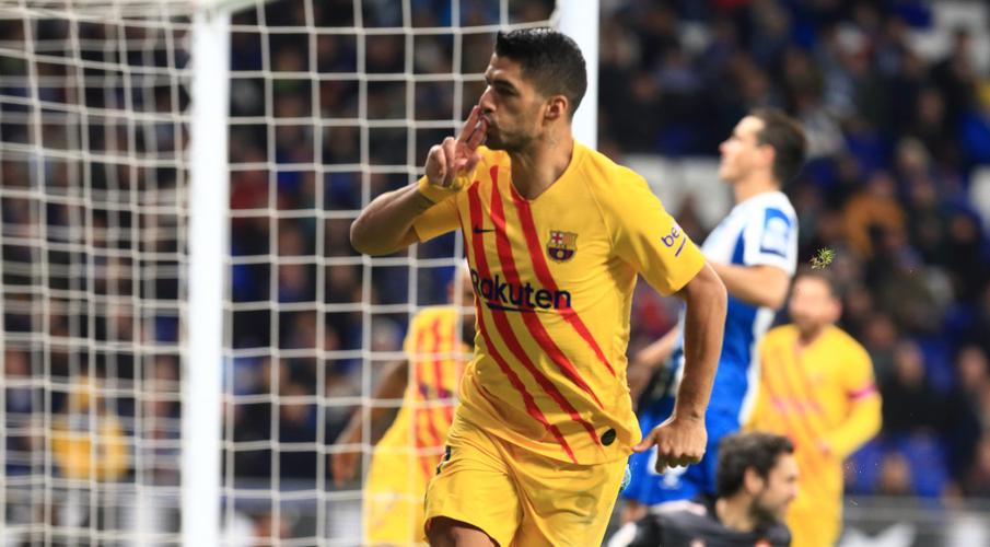 Barca aim to keep up with Real as they tackle Espanyol
