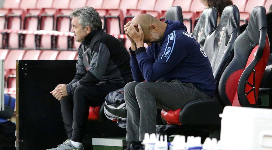 Guardiola at a loss to explain Man City defeats