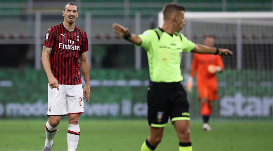 Milan coach brushes off Ibrahimovic's angry reaction to substitution