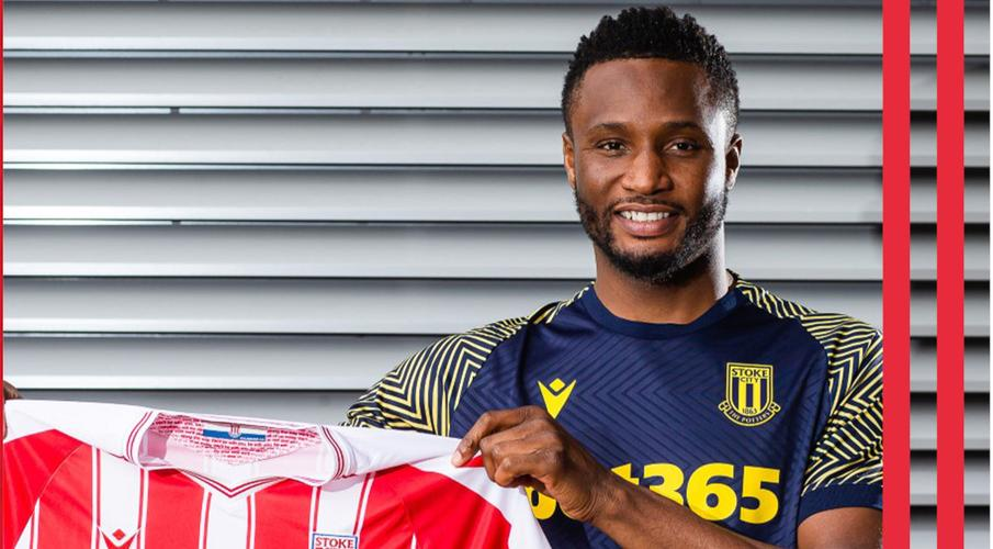 Stoke sign ex-Chelsea midfielder Mikel on free transfer